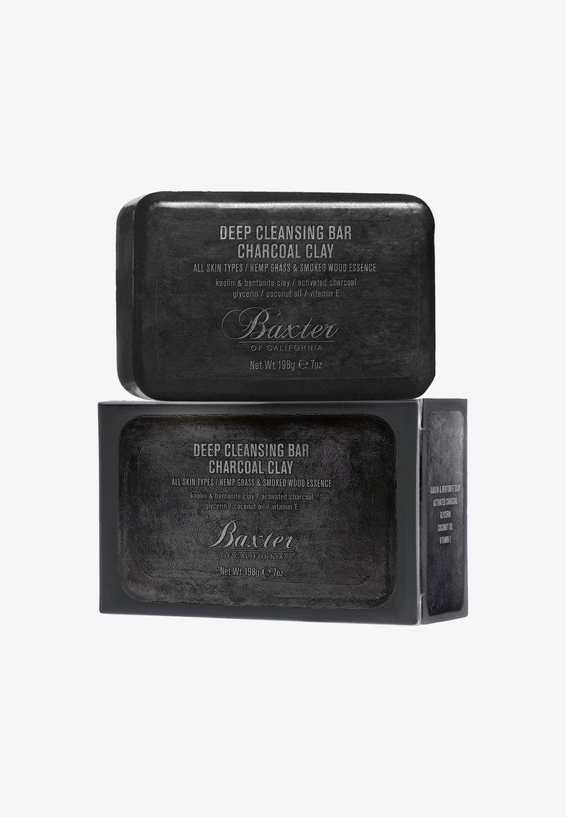 Baxter of California - DEEP CLEANSING BAR CHARCOAL CLAY 198G - Savon en barre - black