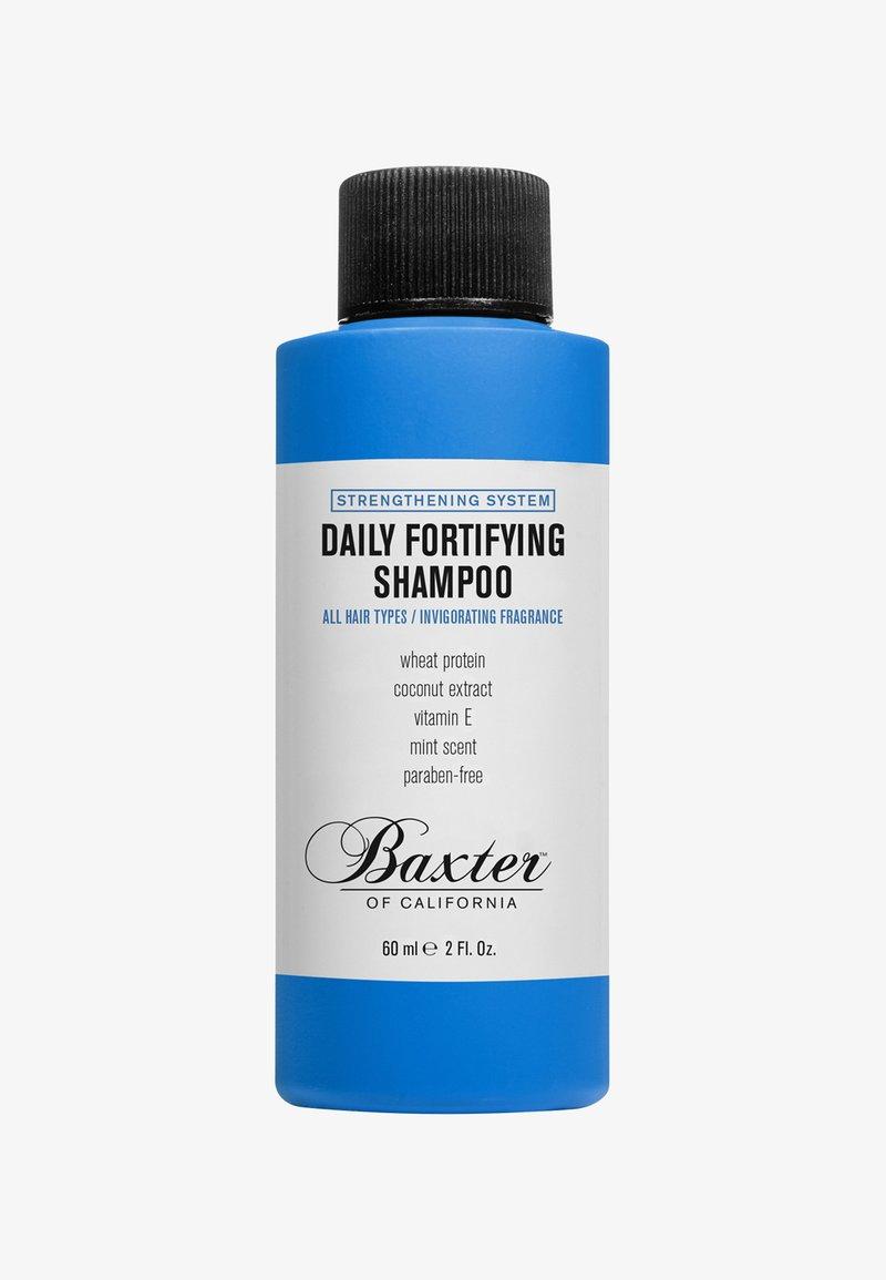 Baxter of California - TRAVEL DAILY FORTIFYING SHAMPOO 60ML - Shampoo - blue clear