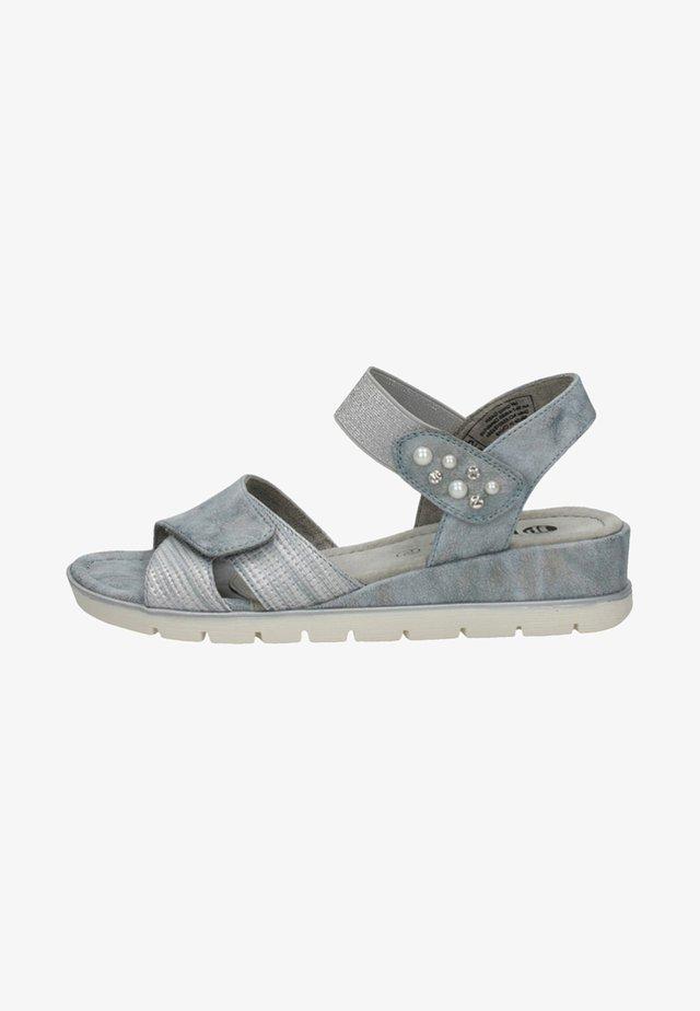 Keilsandalette - grey