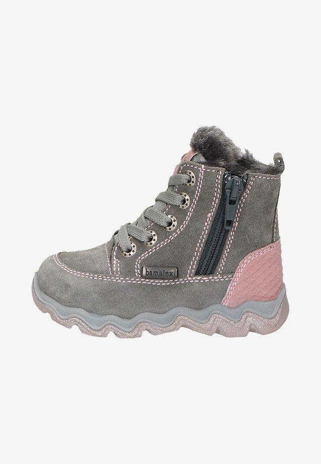Baby shoes - medium grey