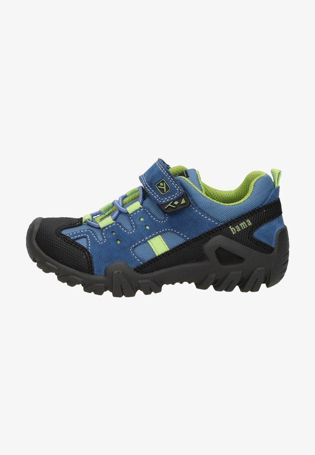 Sneakers laag - Mittelblau