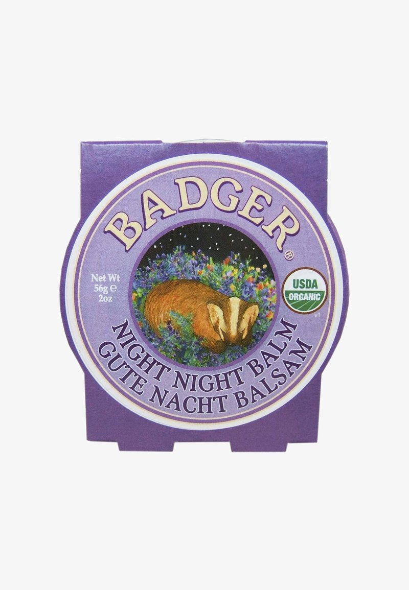 Badger - NIGHT NIGHT BALM 56G - Natpleje - -