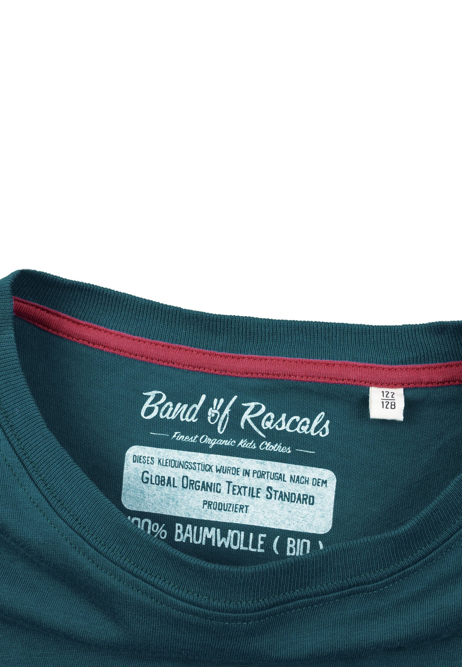 Band Of Rascals Do The Right Thing - Print T-shirt Dark Petrol