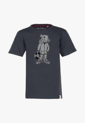 DJ - Print T-shirt - grey
