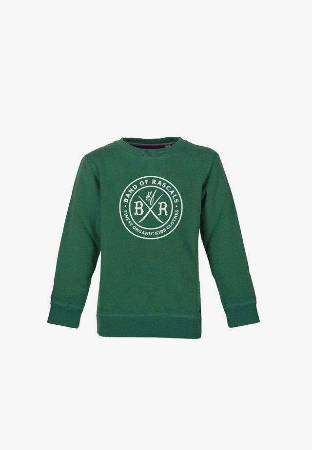 Sweatshirt - dark-green