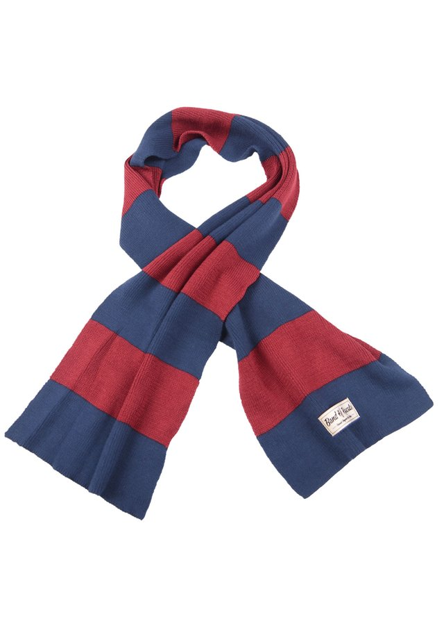 Scarf - red/blue