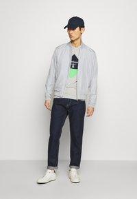 Barbour Beacon - DIAMOND TEE - T-shirt print - grey - 1