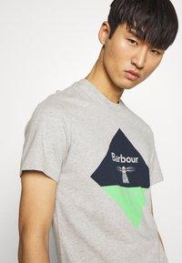 Barbour Beacon - DIAMOND TEE - T-shirt print - grey - 3
