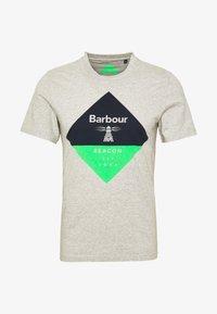 Barbour Beacon - DIAMOND TEE - T-shirt print - grey - 4