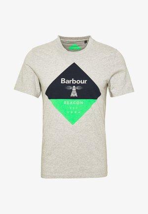 DIAMOND TEE - Camiseta estampada - grey