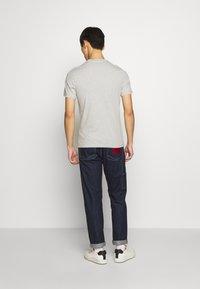 Barbour Beacon - DIAMOND TEE - T-shirt print - grey - 2
