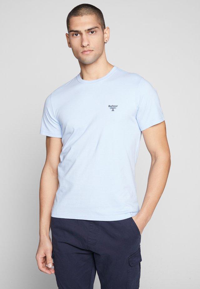 TEE - Basic T-shirt - lt blue