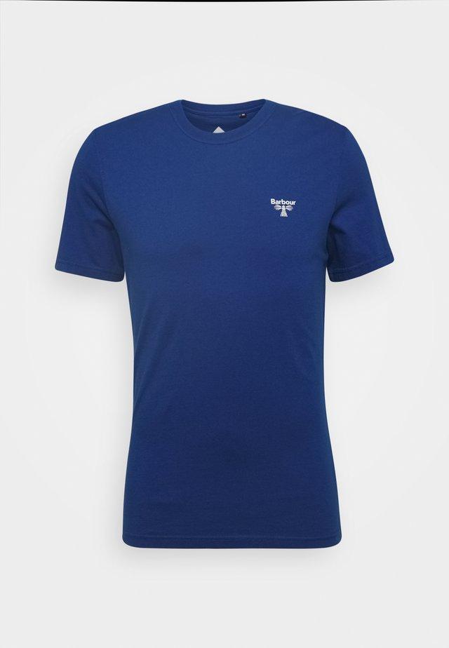 BEACON SMALL LOGO TEE - T-shirt basique - nautical blue
