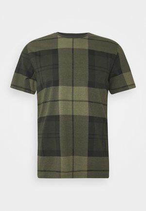 TARTAN TEE - Print T-shirt - forest