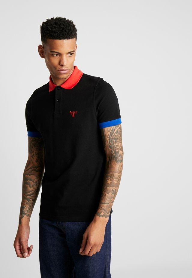 ABBEY POLO - Koszulka polo - black