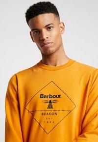 Barbour Beacon - OUTLINE  - Sweatshirt - golden oak - 4