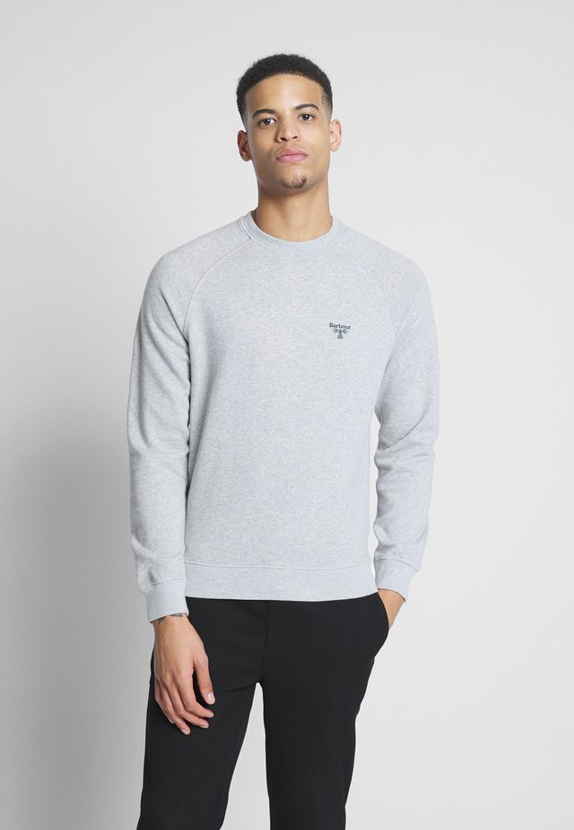 BEACON CREW - Sweatshirts - grey marl