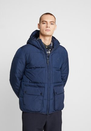 BEACON ANSAH QUILT - Giacca invernale - navy
