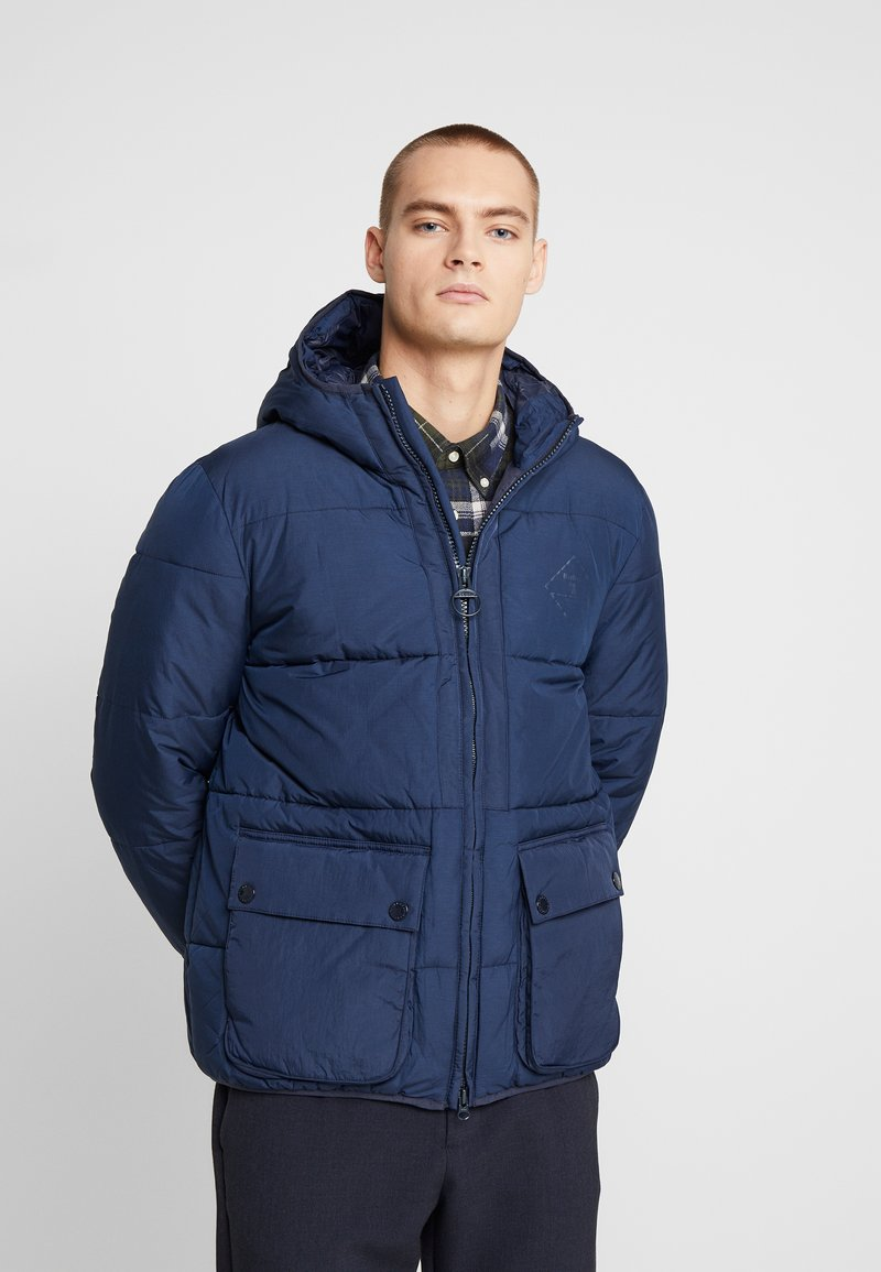 Barbour Beacon - BEACON ANSAH QUILT - Winter jacket - navy