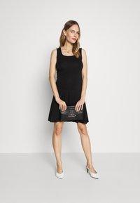 Balloon - DRESS - Jersey dress - black - 1