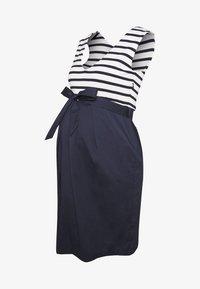 Balloon - STRAIGHT DRESS STRIPES - Denní šaty - navy-white - 3