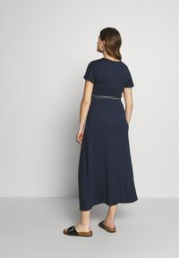 Balloon - NURSING DRESS - Maxi dress - navy - 2