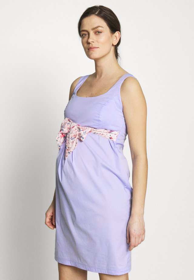 DRESS BELT - Day dress - lilac
