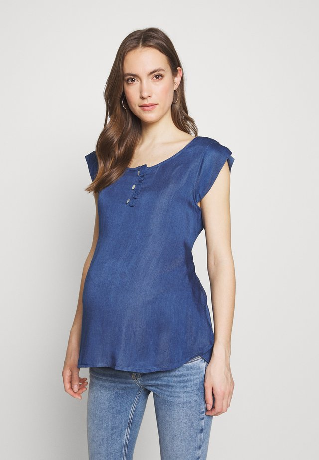 NURSING BLOUSE - Blouse - blue