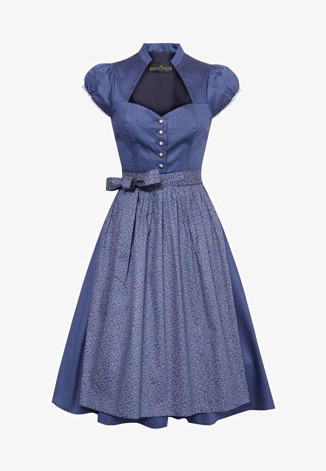 ANNAMIRL - Dirndl - blue