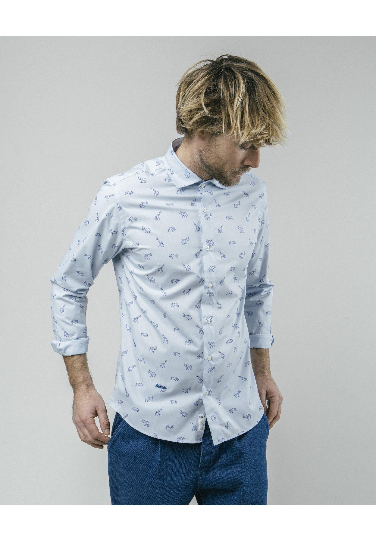 Brava Fabrics Koszula - blue