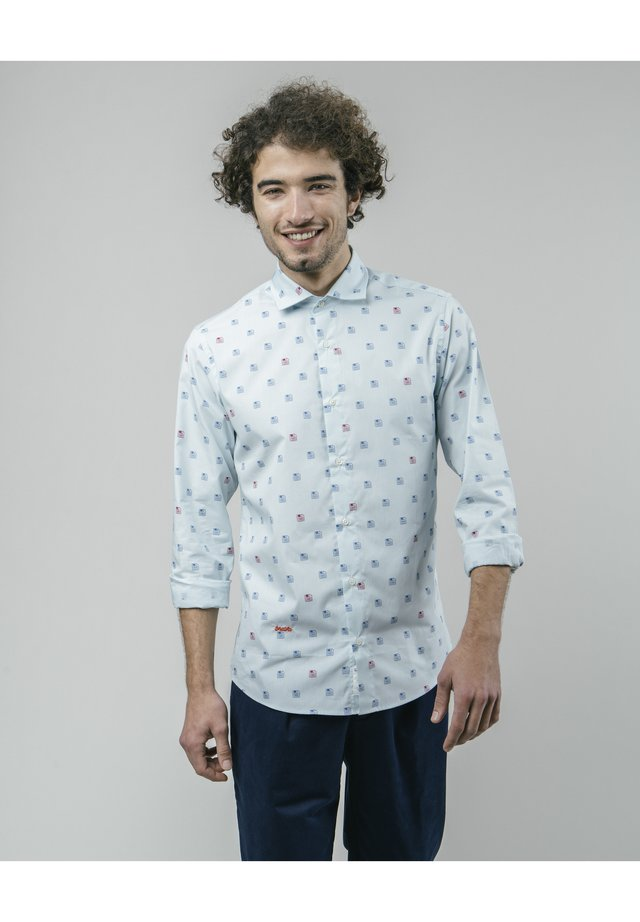 DISKETTES - Shirt - blue