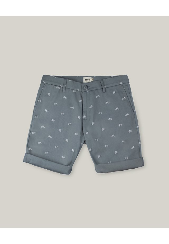 FIXED GEAR RIDER - Shorts - grey