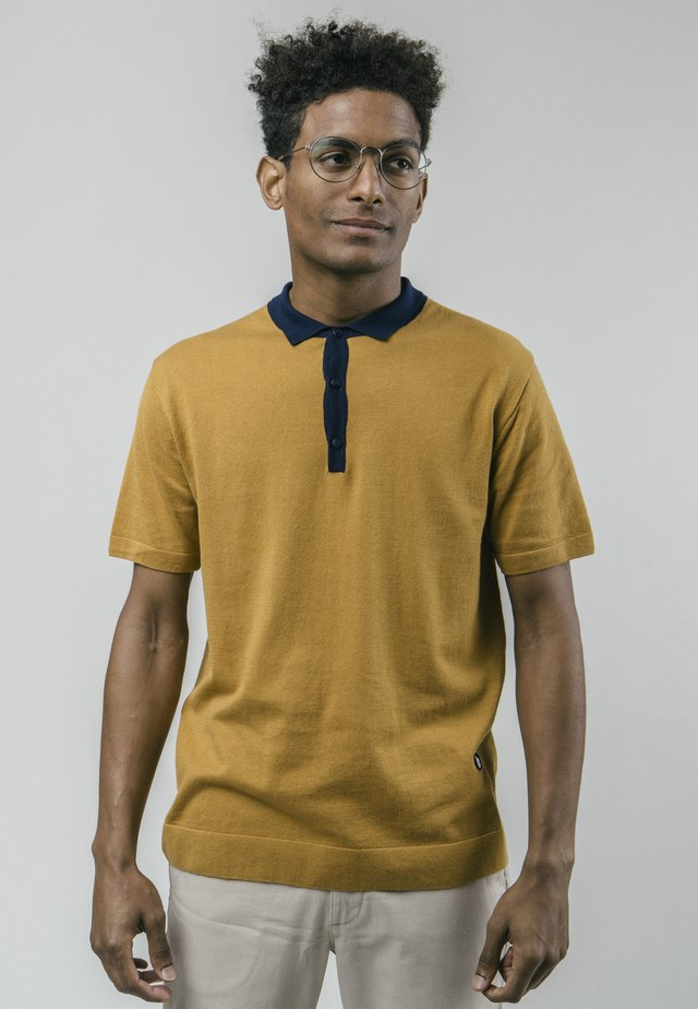 Polo shirt - brown