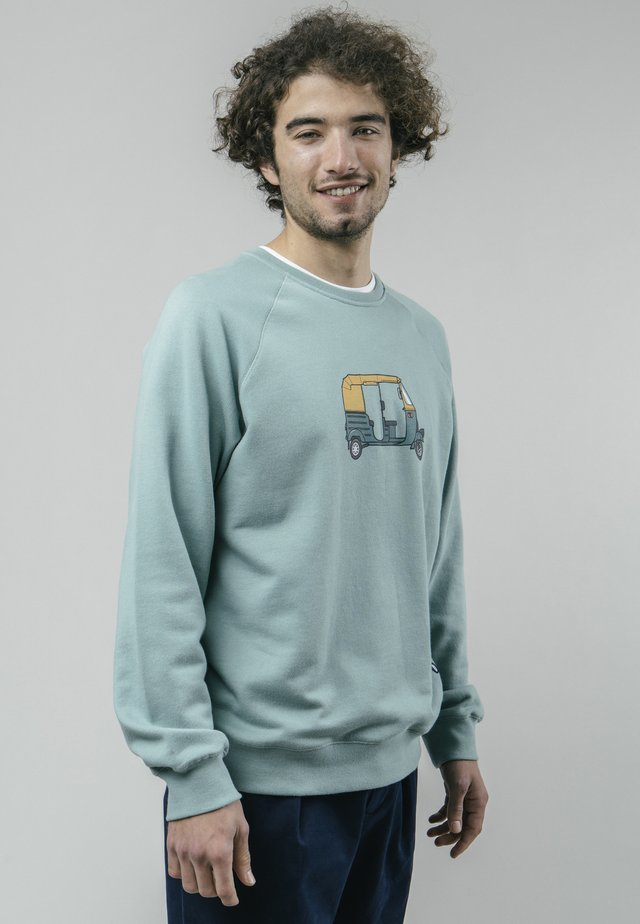 TUK TUK RACE  - Sweatshirt - green