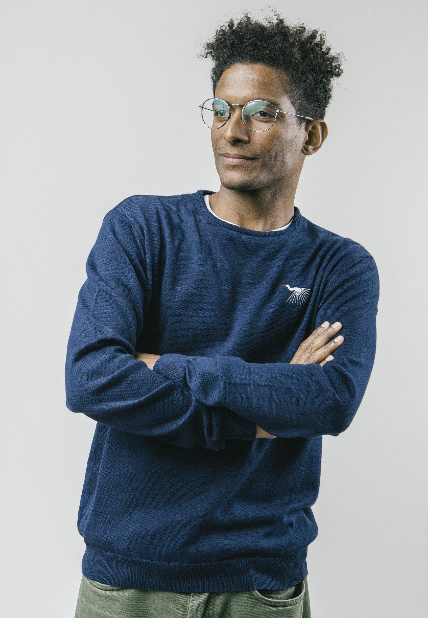 Brava Fabrics Sweter - blue