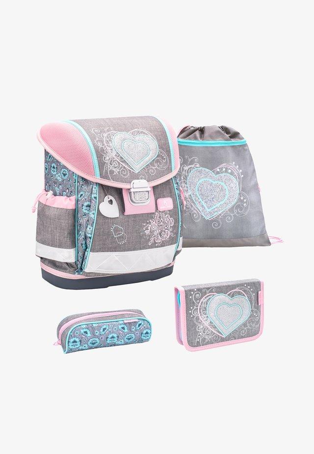 SET - School bag - bunt