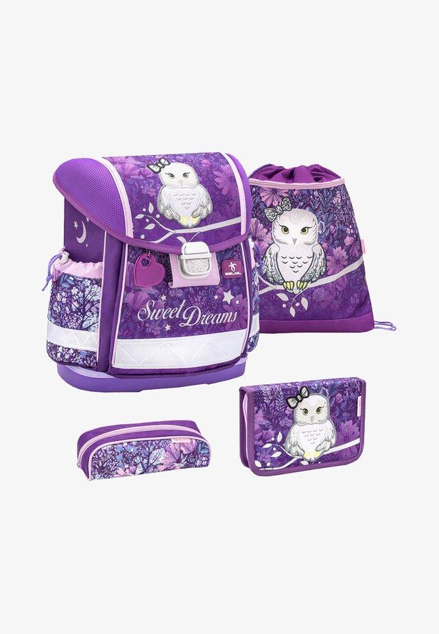 SET 4 - School set - dark purple