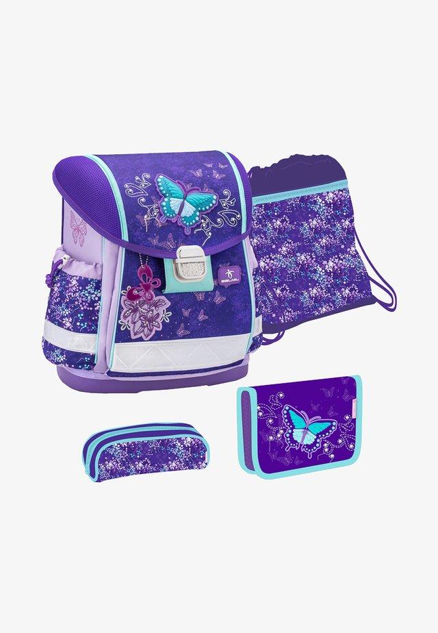 SET 4 - School set - mottled purple