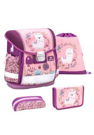 SET - School bag - rosa