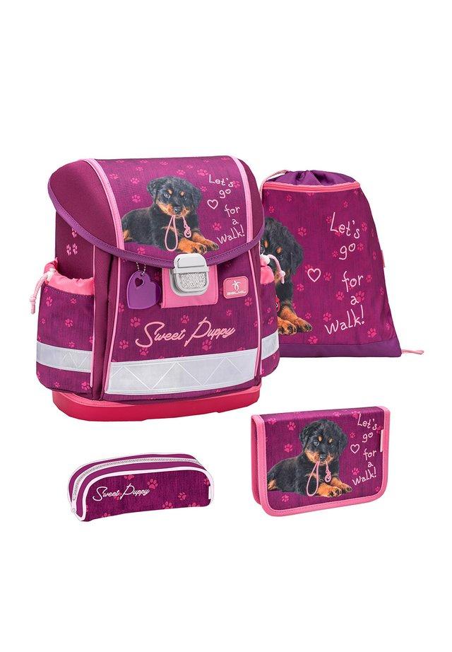 SET - School bag - pink