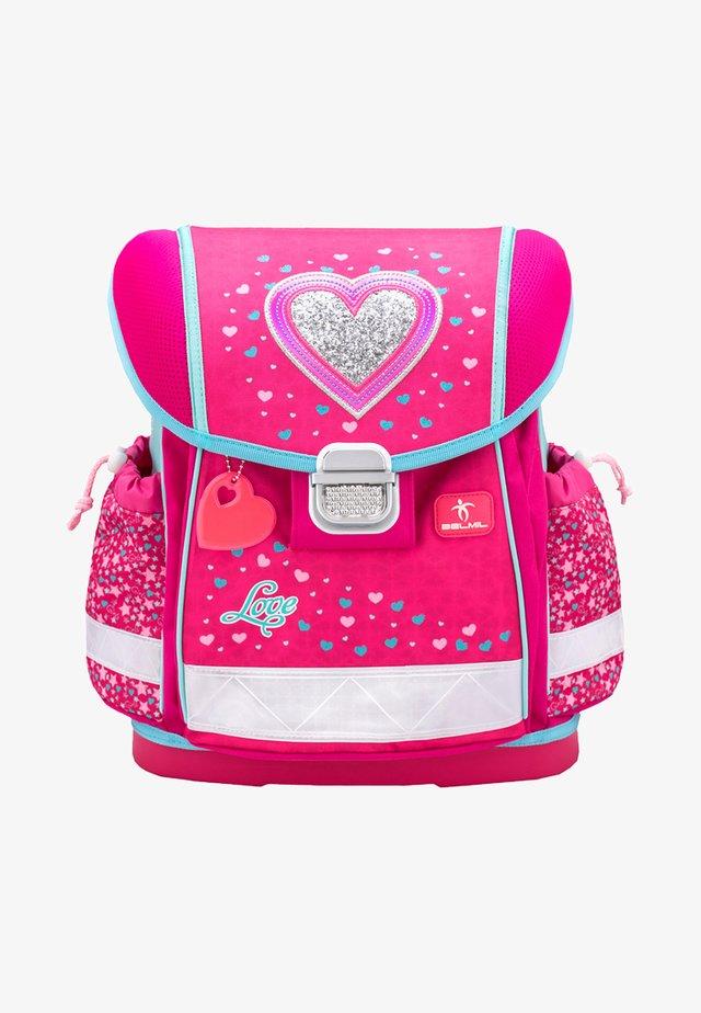 SET 4 - School set - neon pink