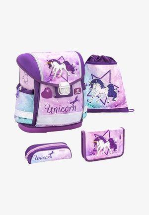 SET - School bag - unicorn