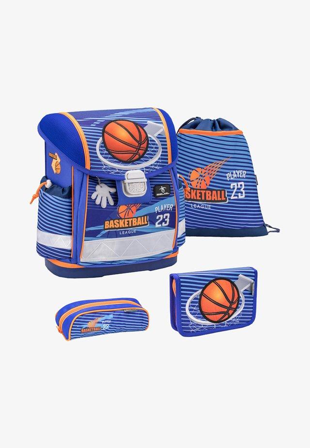 SET - School bag - blue