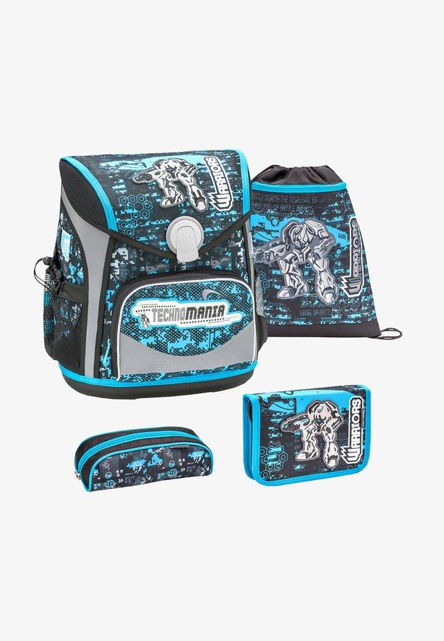 SET 4 TEILIG - School set - blue/black