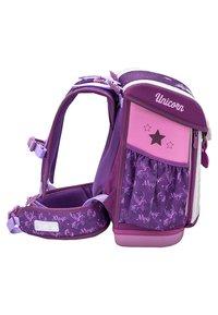 Belmil - SET 4 TEILIG - School set - mottled purple - 3