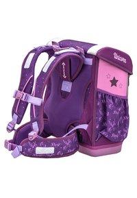 Belmil - SET 4 TEILIG - School set - mottled purple - 5