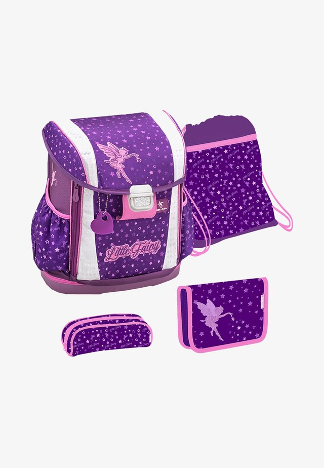 SET - School bag - dark purple