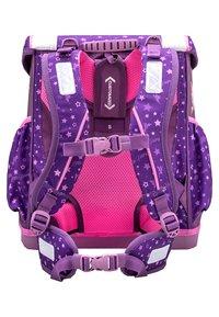 Belmil - SET 4 TEILIG - School set - dark purple - 2