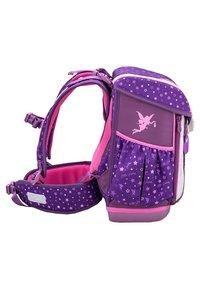 Belmil - SET 4 TEILIG - School set - dark purple - 3
