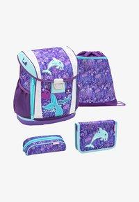 Belmil - SET - School bag - purple - 0